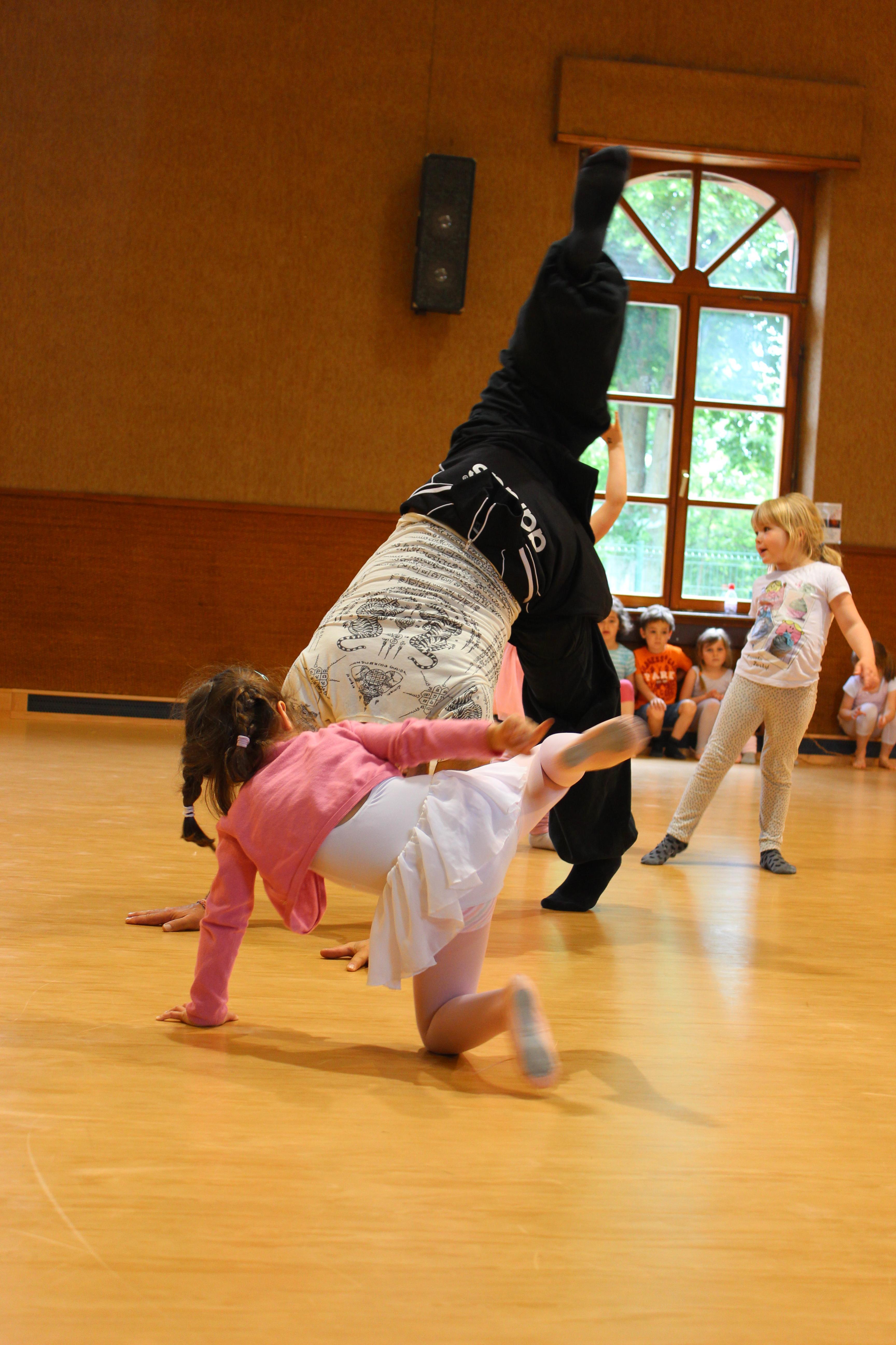 Eveil à la danse (4-6ans/ Maternelles)