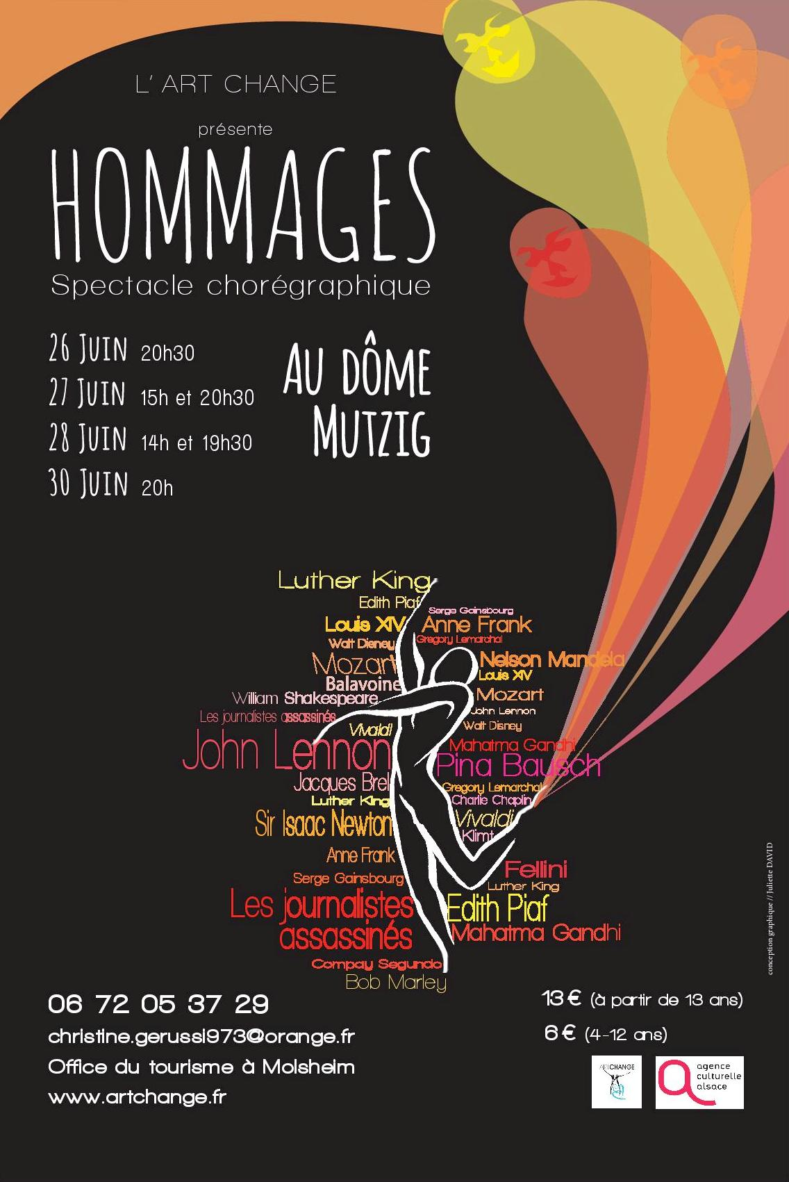 Affiche Hommages