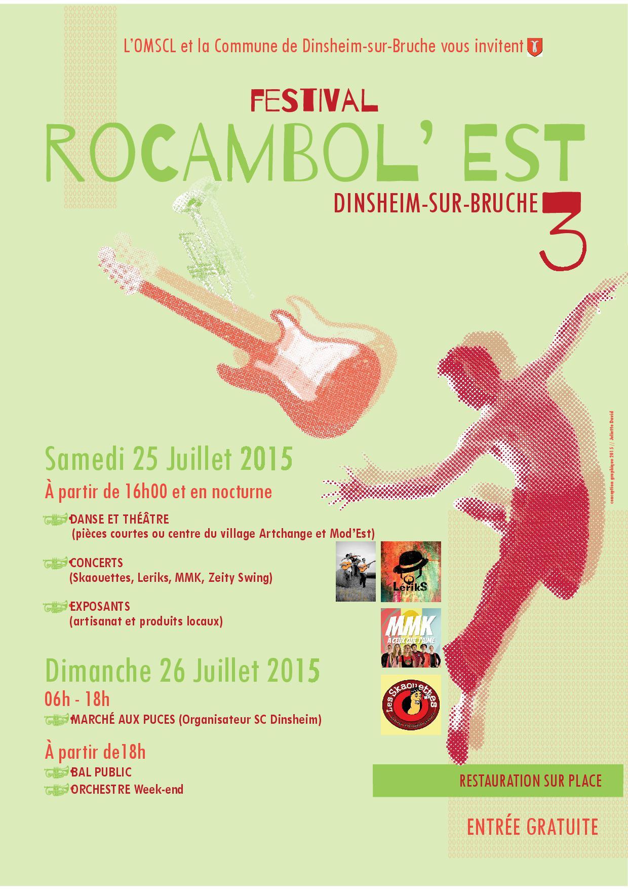 Affiche Festival Rocambol'est