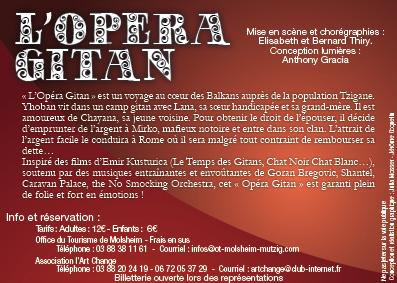 flyers opéra gitan